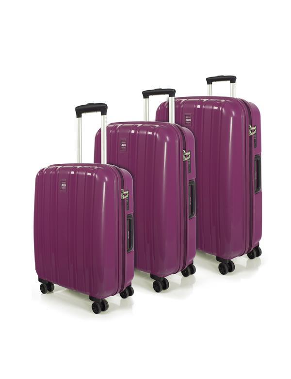 set trolleys 50/60/70cm rosa