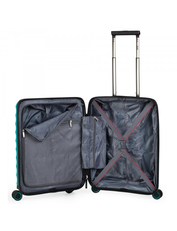 trolley case 50cm blue