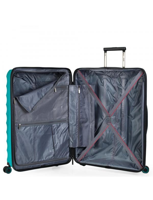koffer 70cm blau