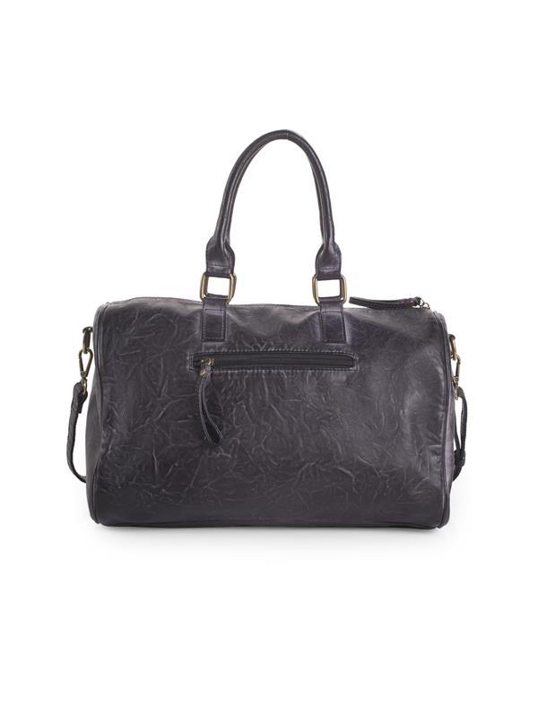 bolso con bandolera gris oscuro