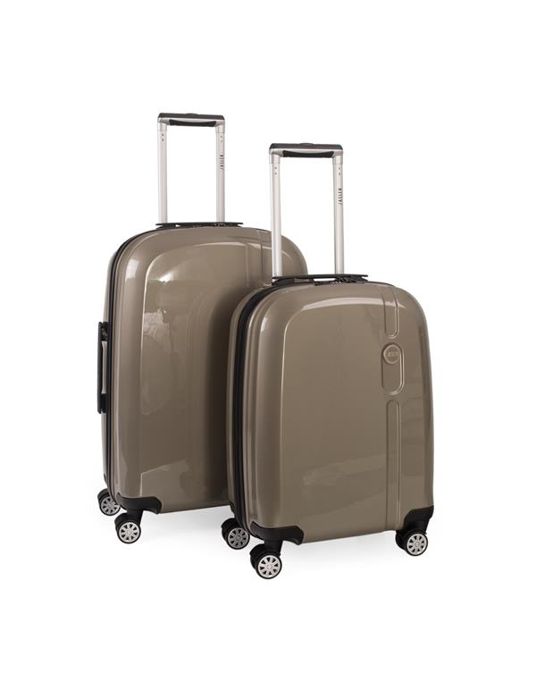 set trolleys 50/60cm champagne
