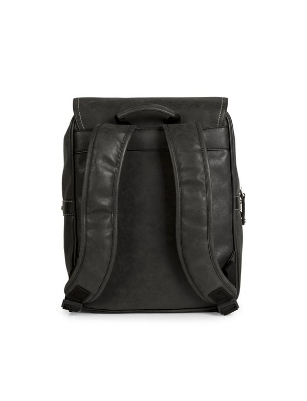 mochila con portaordenador negro