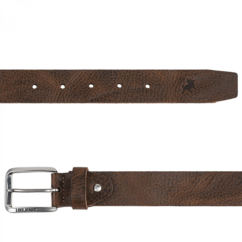 leather belt 40mm burgundy