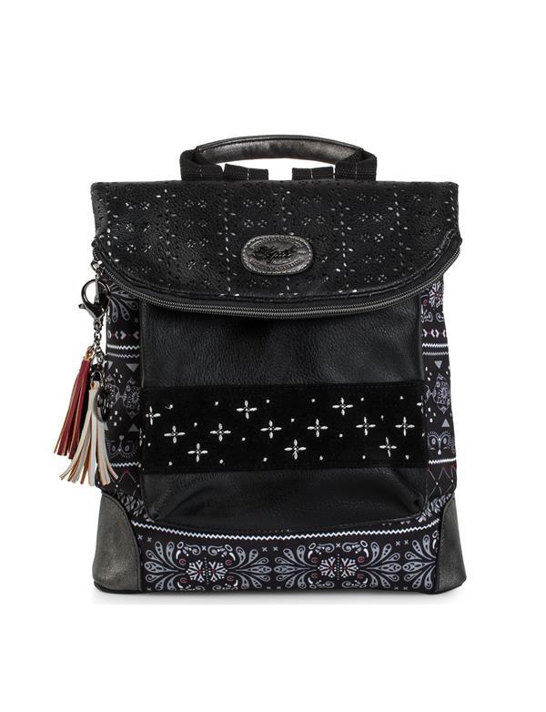 mochila negro