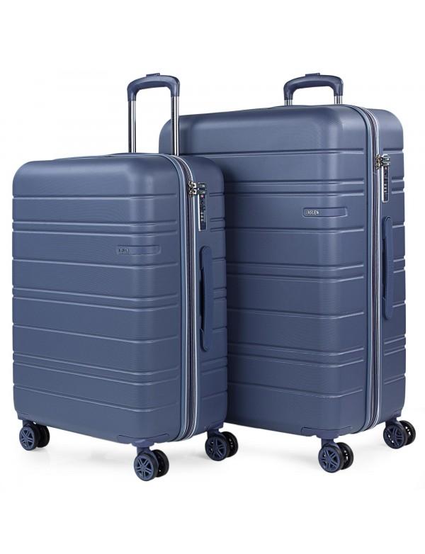 Juego de maletas (Mediana y grande) San Marino en ABS Extensibles con capacidad de 191L con TSA